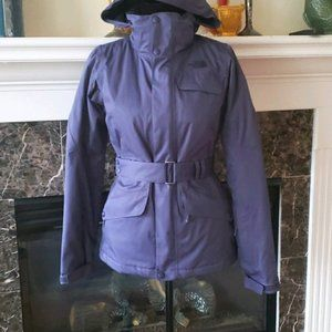 The North Face Get Down XS purple coat jacket